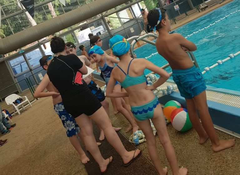 קבוצות שחייה ושיפור סגנון למתקדמים